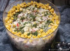 Sałatka Euforia - przepis ze Smaker.pl Acai Bowl, Macaroni And Cheese, Vegetables, Breakfast, Ethnic Recipes, Food, Christmas, Acai Berry Bowl, Morning Coffee