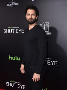 Adrian Bellani Photos Photos - Adrian Bellani attends the HULU premiere of Shut Eye at the Arclight theatre in Hollywood, on December 1, 2016. / AFP / CHRIS DELMAS - Premiere Of Hulu's 'Shut Eye' - Arrivals