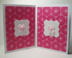 Handmade Note Card / Stationery 2 Card Set  Abstract by AidforAbby, $4.99