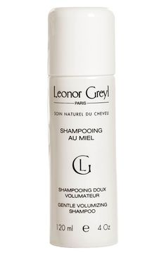 Main Image - Leonor Greyl PARIS 'Shampooing au Miel' Volumizing Shampoo $35 For Fine Hair: Splurge    Thanks to a sweet blend of acacia honey and rose extracts, this ultra-pampering shampoo delivers megawatt shine, softness and ample volume.