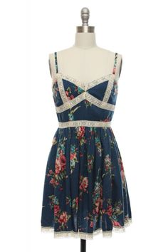 Flower Shop Dress | Vintage, Retro, Indie Style Dresses | LaceAffair.com
