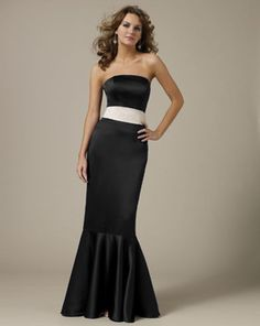 Black bridesmaid dresses Black bridesmaids and Bridesmaid dresses ...