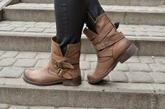 AgneStyle: Motorcycle boots