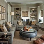 North Shore Family Home - traditional - living room - chicago - Buckingham Interiors + Design LLC