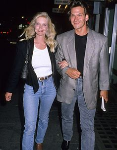 patrick swayze and wife lisa Hollywood Couples, Celebrity Couples, Patrick Swayze Death, Lisa Swayze, Lisa Niemi, Patrick Wayne, Famous Couples, Dirty Dancing, Tv Guide