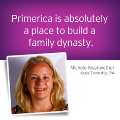 When Michele Kisenwether, of Hazle Township, PA, first heard about the Primerica business opportunity, she had no idea she was… Continue Reading Building A Legacy of Success Affordable Life Insurance, Team Online, Financial Tips, Business Opportunities, Online Business, Opportunity, How To Find Out, Success, Building