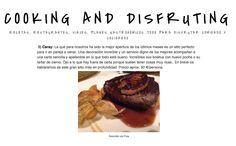 BLOG Cooking and Disrupting Diciembre 2014 #prensa #caraymadrid #caray #restaurante #foodies #travel #food #comida #decoration #decor #design #gastronomy #gastro