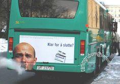 smoking bus
