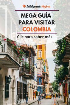 Conoce los mejores tips para tener un #buenviaje por #Colombia #GuíadeViaje #viajevintage #viajarsolo Solo Travel, Travel Tips, South America Travel, Central America, Continents, Tours, Scenery, Street View, Adventure