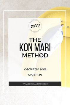 The Kon Mari Method is a highly effective way to learn how to declutter and organize your home. Declutter Your Home, Organize Your Life, Organizing Your Home, Organizing Ideas, Organization Skills, Konmari Method, Family Organizer, Simple Living, Decluttering