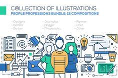 Professions - Compositions Bundle  @creativework247