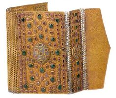 The Art Of Jewelry In The Ottoman Court, Bookbinding, Topkapi Museum