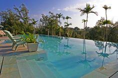 Salt water pool at Hawaii Island Retreat Kohala Coast #Glamping