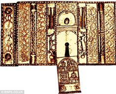 Henry VIII's lock for his private apartments: he took it everywhere and kept its key all to himself