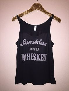 Sunshine and Whiskey - FRIDAY FUN DAY SALE - Glitter - Slouchy Relaxed – Ruffles with Love
