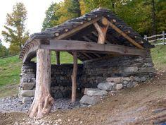 Natural Stone & Native Wood - Shelter