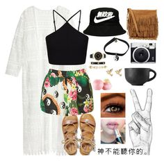 """Untitled #11"" by destiniet ❤ liked on Polyvore featuring H&M, Polo Ralph Lauren, American Eagle Outfitters, Miss Selfridge, Jaded London, Anne Klein, Retrò, M&Co, Eos and Fuji"