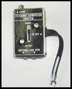 If you know what this is, you're getting old. (Holy crap I'm getting old! We had one of these on the TV in my childhood home. Childhood Toys, Childhood Memories, Childhood Friends, Arcade, Master System, 80s Kids, Ol Days, Do You Remember, Great Memories