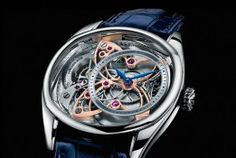 EKSO WATCHES Andreas Strehler - Golden Butterfly - EKSO WATCHES
