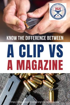 Are you someone who uses the terms clip and magazine interchangeably as if they're the same thing? Well, they're not, and it's time to learn what makes clip vs magazine different from each other here! Hunting Guns, Knowledge Is Power, Guns And Ammo, Classic Trucks, Firearms, Life Hacks, Magazine, How To Make, Diy