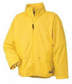 f2ea2ae5bfc Populær regnjakke i blød PU: Helly Hansen Voss regnjakke, gul (70180-310