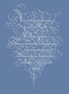 Raphael Boguslav - Designer & Calligrapher - Portfolio