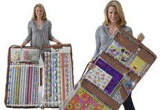 "Really neat product I just found - ""Wrap It"" - The Worlds Greatest Gift Wrap Organizer  #wrapit  #organizediy"