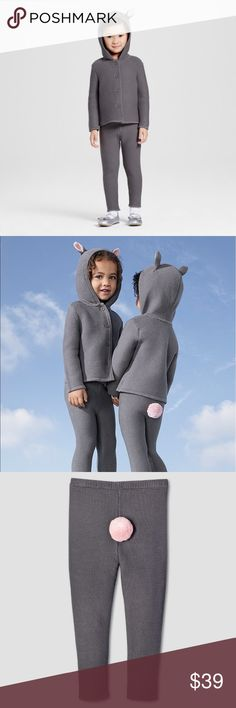 Victoria Beckham for Target grey bunny sweater set Sooo adorable!! Love pink round tail Victoria Beckham Matching Sets