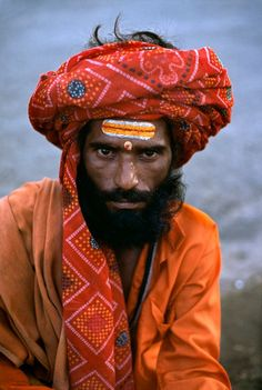 Indian Man by Steve McCurry