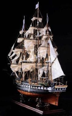 "USS Constitution 44"" Wooden SHIP M.  Want for my office!"