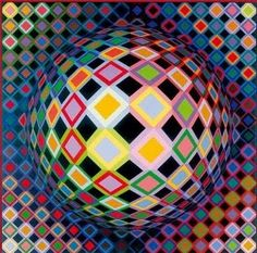 Pink Martini Art: Victor Vasarely (1906-1997)