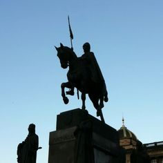 Prague, St Vaclav Monument :)