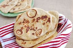 This is more like a Naan, but an excellent base for healthy toppings! This Whole Wheat Flatbread is the perfect dinner side dish!