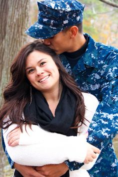 US Navy Sailor Military Couples Photo Shoot. Www.facebook.com/herphotogs