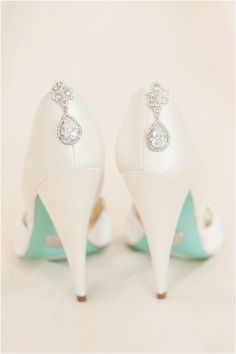 Betsy Johnson Wedding Shoes by Christina Forbes Photography