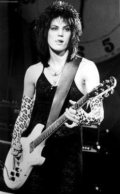 Joan Jett. I want her effing hair.