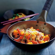 Sweet & Sour Pork - a family favourite and so Autumn inspiring.