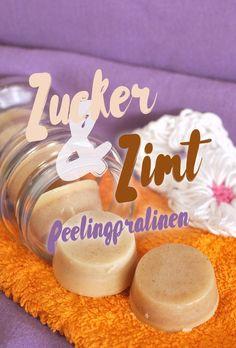 Und wieder eine Geschenkidee für vegane Kosmetik-Freunde: Zucker und Zimt Peelingpralinen mit eben dem richtigen Schmelz, pudriger Konsistenz und dem unverkennbaren Duft nach Zimt und Schokolade. Erin