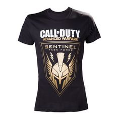 Call of Duty Duty Advanced Warfare - Black Golden SentinelT-Shirt