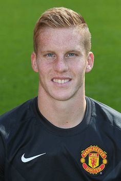 54b66fb53be Ben Amos of Manchester United poses during the annual club photocall at Old  Trafford on September