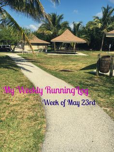 My Weekly Running Log #running #exercise
