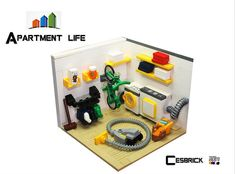LEGO Apartment life - Laundry