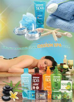 Ossion SPA Reklam çalışması by Haldun çağlıner, via Behance