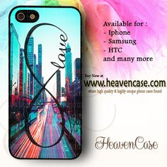 Infinity Love City available For Iphone 4/4s/5/5s/5c case , Samsung Galaxy S3/S4/S5/S3 mini/S4 Mini/Note 2/Note 3 case , HTC One X , HTC One M7 case , HTC One M8 case and many more , check our website www.heavencase.com