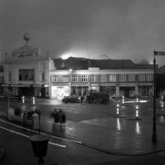 Rivoli, Worthing, 1960 - on fire