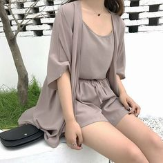 Style up your daily look with our unique MOODLFT® collection in trendy Korean fashion. Shop our exclusively curated chic Korean fashion & K-beauty products. Korean Fashion Trends, Korea Fashion, Asian Fashion, Look Fashion, Girl Fashion, Fashion Dresses, Paris Mode, Elegantes Outfit, Cute Casual Outfits
