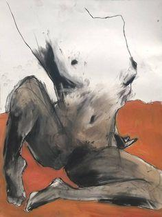 "Saatchi Art Artist Marcello Munoz; Drawing, ""Lower Torso Study"" #art Human Figure Artists, Saatchi Art, Study, Drawings, Art Work, Nature, Painting, Model, Heavens"