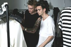 George Daniel and Matty Healy // the 1975