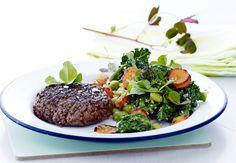 Terveellinen ja ravitseva päivällisruoka, joka valmistuu puolessa tunnissa.