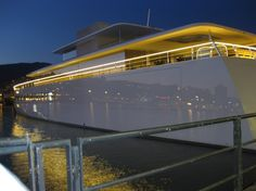 Take a look inside Steve Jobs' Luxury Yacht | Discover more about luxury toys: http://designlimitededition.com/